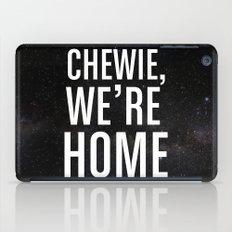 Chewie, We're Home iPad Case