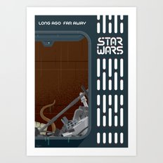 Trash Compactor Art Print