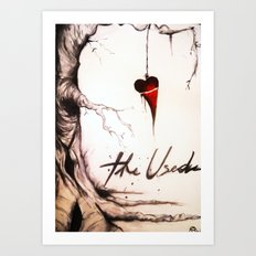 The Used Art Print