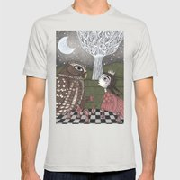 Once Upon a Time Mens Fitted Tee Silver SMALL