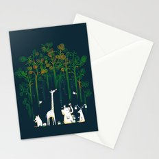 Re-paint the Forest Stationery Cards