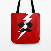 Boots Electric Tote Bag