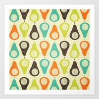 Oh What A Lovely Pear. Art Print