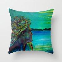 El Capitan (reworked) Throw Pillow