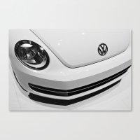 2013 VW Beetle Canvas Print