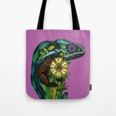 chameleon orchid Tote Bag