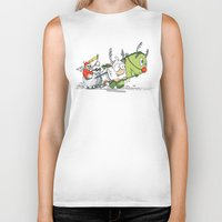 You Cannot Escape Love. Biker Tank