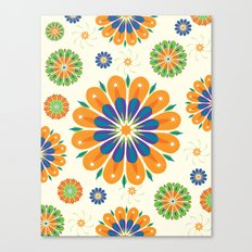Flowersparkle Canvas Print