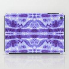 Tie Dye Twos Violet Hues iPad Case