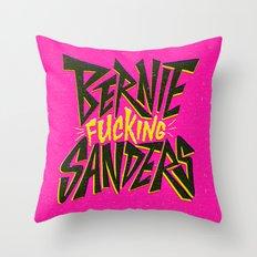 Bernie Sanders Throw Pillow