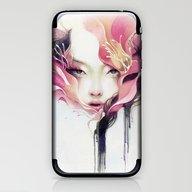Bauhinia iPhone & iPod Skin