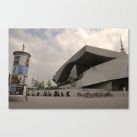 BMW Headquaters Canvas Print