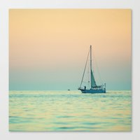 Sailboat Costa Rica Canvas Print