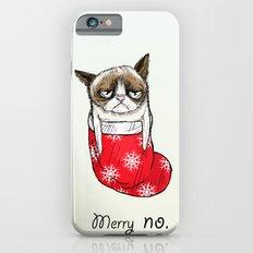 grumpy christmas Slim Case iPhone 6s