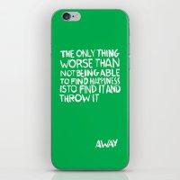 ...Away (Vers. 2) iPhone & iPod Skin