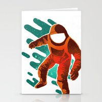 Space Distortion Stationery Cards