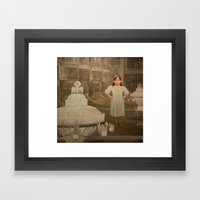 The First Real Top Framed Art Print