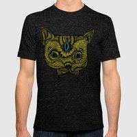 PsyChat Mens Fitted Tee Tri-Black SMALL
