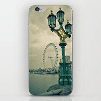View of the London Eye iPhone & iPod Skin
