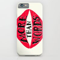 iPhone & iPod Case featuring More Than Words by Lucas Scialabba :: Palitosci
