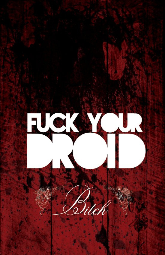 Fuck Your Droid! Art Print