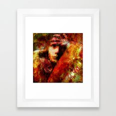 Spirits Torment (With Ganech Joe) Framed Art Print