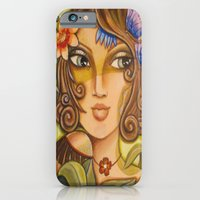 Mona Lisa's Butterflys iPhone 6 Slim Case