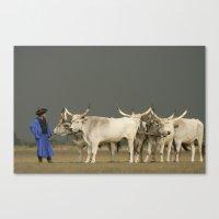 Herdsmen  Canvas Print