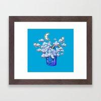 Bucket of Dreams Framed Art Print