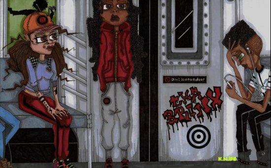 Tha Bronx 3 Art Print