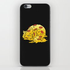 Pepperoni Pizzacat iPhone & iPod Skin