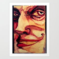 Barker Art Print