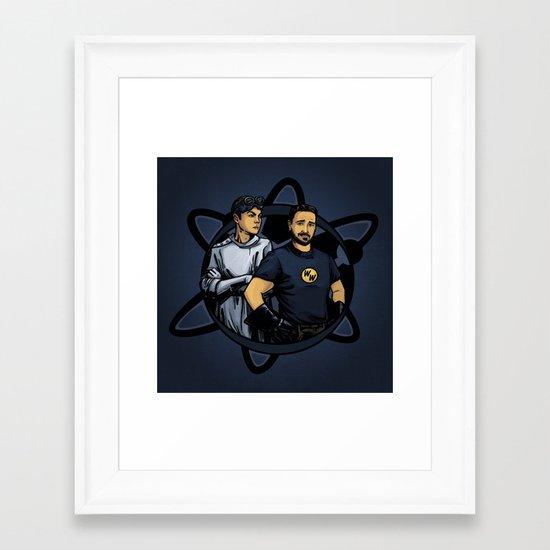 Dr. Cooper's Revenge Framed Art Print