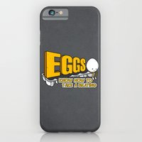 iPhone & iPod Case featuring Eggs! by Boots