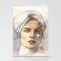 turbante Stationery Cards