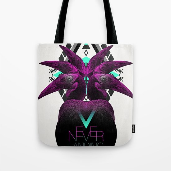 ::Never Landing:: Tote Bag