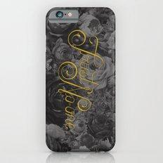 Trust No-one Lettering iPhone 6 Slim Case