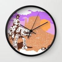 Walker Tejas Ranger Wall Clock