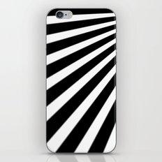 Black and White Stripes iPhone & iPod Skin
