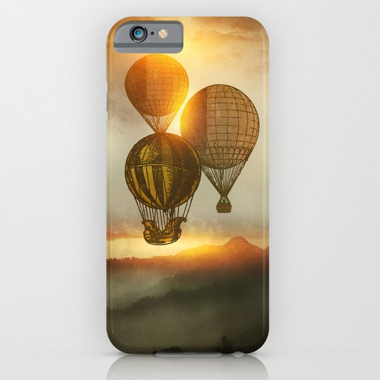 A Trip down the Sunset iPhone & iPod Case