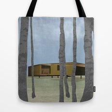 wood pavilion Tote Bag