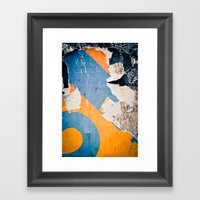 Urban Archaeology No. 35 Framed Art Print