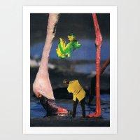 Arsicollage_11 Art Print