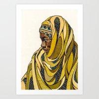 Rwanda Art Print