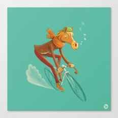 I want to ride my bicycle! Canvas Print