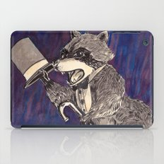 Dapper Raccoon iPad Case