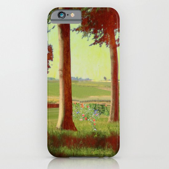 Daisy's in the field iPhone & iPod Case