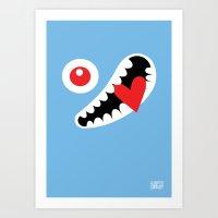 EYE LOVE Art Print