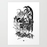 Night Overture Art Print