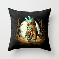 The Return! Throw Pillow